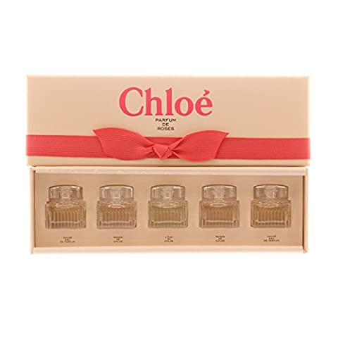 Parfums Chloe Variety 5 Piece Mini Gift Fragrance Set for (5 Ml Edp)
