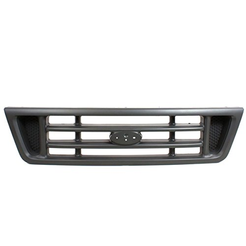 Koolzap For 03-07 E-Series Van Front Grill Grille Assembly Platinum FO1200429 2C2Z8200BAA ()