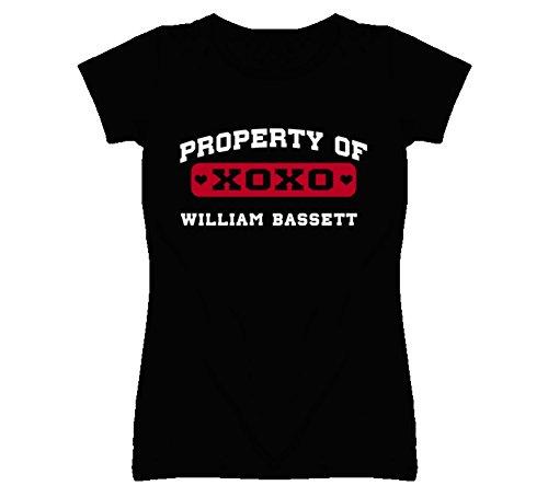 William Bassett Estate of I Love T Shirt S Black