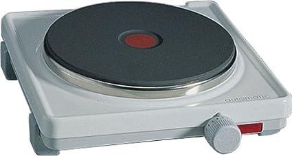 Rommelsbacher AK 2080 - Hornillo eléctrico, 2000 W, color blanco