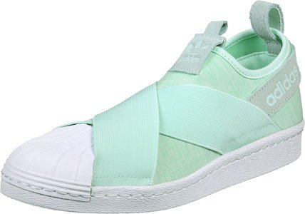 adidas Superstar Slip On W Calzado verde blanco
