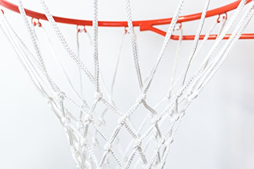Ultra [2 Pack] Heavy Duty Basketball Nets - All Weather Anti Whip, Replacement for Standard Indoor or Outdoor Rims - White, 12 Loops