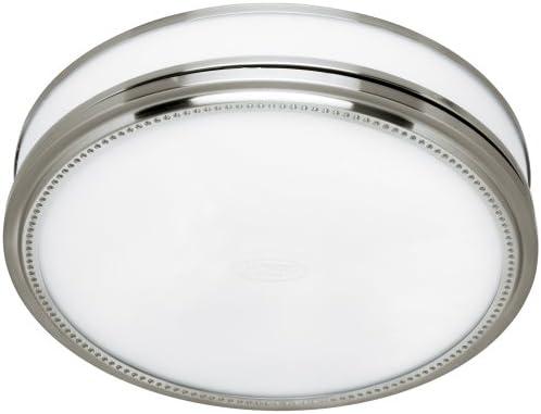 Hunter 83001 Riazzi Bathroom Fan With Light And Nightlight Brushed Nickel Vanity Lighting Fixtures Amazon Com