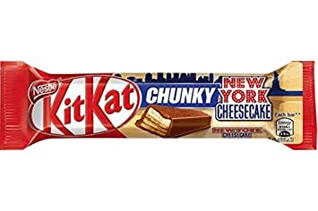 Amazoncom 24 x KIT KAT Chunky New York Cheesecake 42g Bars