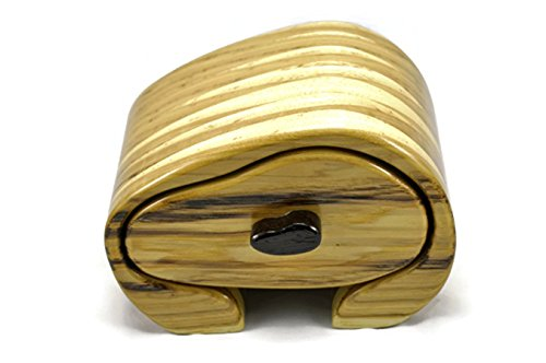 Jewelry Box in Hickory & African Wenge by Artistry In Woodworking
