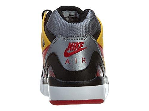 Nike Air Tech Challenge 2 Grandi Bambini Neri / Unvrsty Rosso-metallizzato Cl Grigio