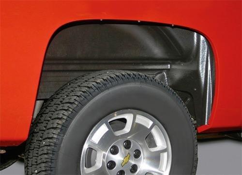 heel Fender Well Liners – Rear ()
