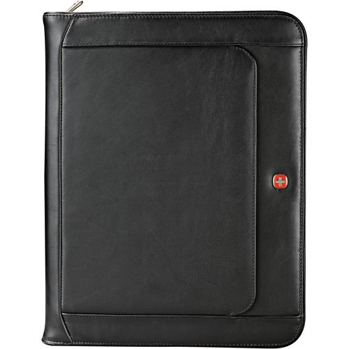 Wenger Executive Leather Zippered Padfolio by Wenger