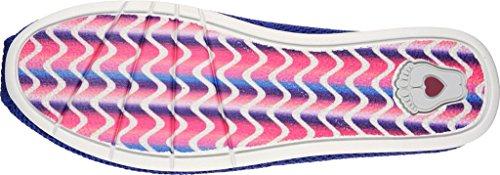 Skechers Donna BOBS Peluche Lite Alpargata, Royal