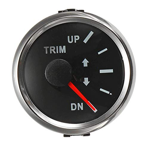GOZAR 52MM Boat Trim Gauge Marine Trim Tilt Gauge For Outboard Engine: Amazon.co.uk: Kitchen & Home