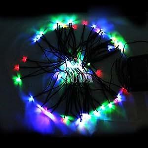 12M Colorful 100Led String Lights Blue Corn Christmas Decoration Fairy Light(Cis-57180), Orange