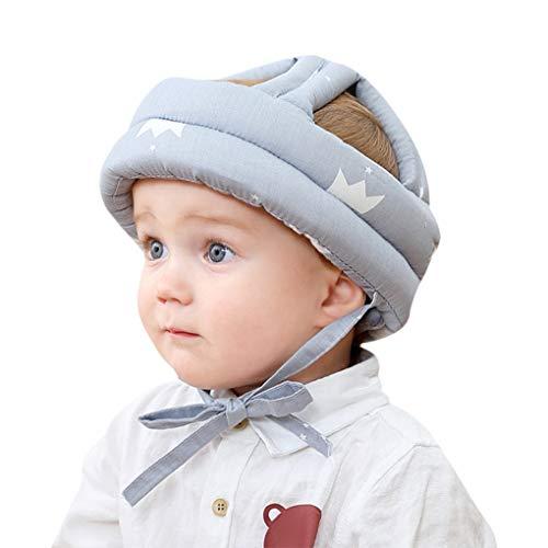 Babyhelm beschermhelm voor zuigelingen, peuters, kinderen, anti-botsing, hoofdbeschermkap, katoenen hoed…