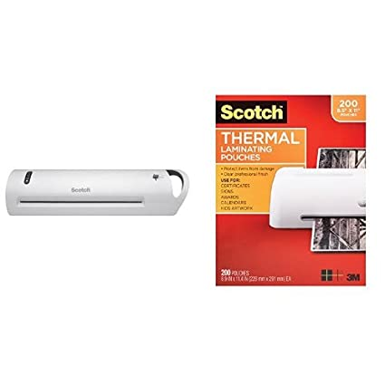 Amazon com : Scotch Advanced Thermal Laminator, Extra Wide