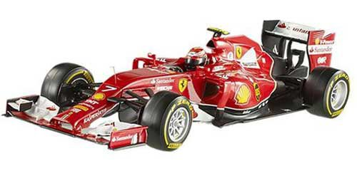 Hot Wheels Elite Heritage Ferrari F2014 Kimi Raikkonen Vehicle (1:43 - Ferrari Kimi
