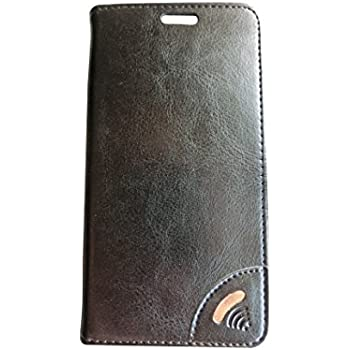 Vest Anti-Radiation Wallet Case for Blackberry KEYone (Black)