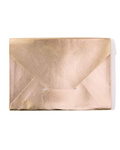 - Sonix Stationery Document Clutch Travel Portfolio - Rose Gold