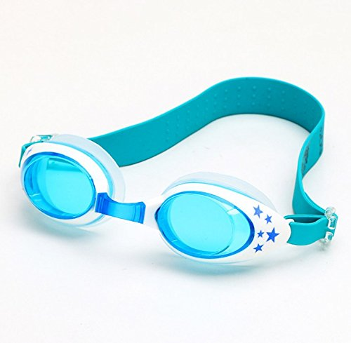 Kids Swimming Goggles - Comfortable Fit with Excellent Anti-Fog and UV Protection, Clear View under Water, Best Swim Goggles for Children Age 4 to 12 Years (Sea - Best Water Goggles