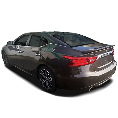 - Dawn Enterprises MAX16-SPRT-FM Lighted Factory Style Flush Mount Spoiler Compatible with Nissan Maxima - Java Metallic (CAJ)