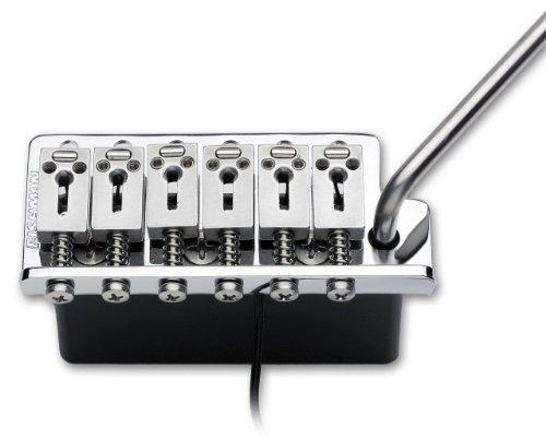 Fishman VMV 6-Screw Vintage Style Vibrato Powerbridge Piezo Bridge Pickup