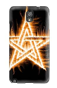 YY-ONE AtJxwXk2321efKsA Amazing Blessed Flame Star Fire Case For Galaxy Note 3
