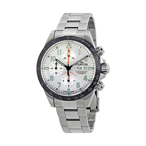 Fortis Classic Cosmonauts Ceramic A.M. Chronograph Automatic Mens Watch 401.26.12 M