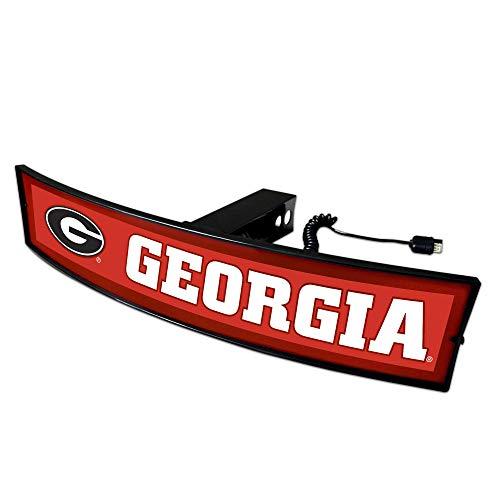 SLS Georgia Bulldogs Light Up Hitch Cover