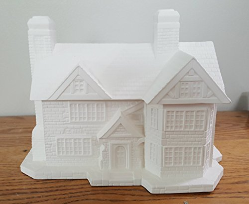 Country Inn unpainted ceramic bisque ready for you to paint by Newark Ceramics & Crafts