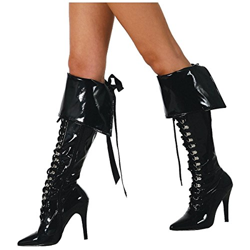 Pirate Accessories For Womens (Pirate Boot Cuffs Costume)