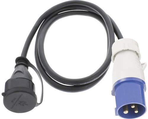 C/âble adaptateur CEE IP44 H07RN-F 3G2,5 mm2 1,5 m prise prise femelle