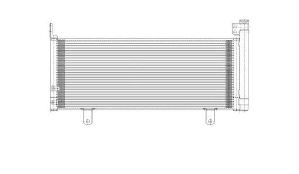 8846033090 TO3030313 New A//C AC Condenser for Toyota Camry 2007-2011