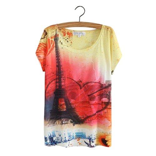 Cat Animal Printed T Shirt Women Tops Summer Camisetas Mujer Women'S T-Shirt Femme Plus Size Casual Tees (T Shirt Halloween Femme)