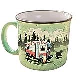 Camp Casual CC-004G Mug (Beary Green),1 Pack