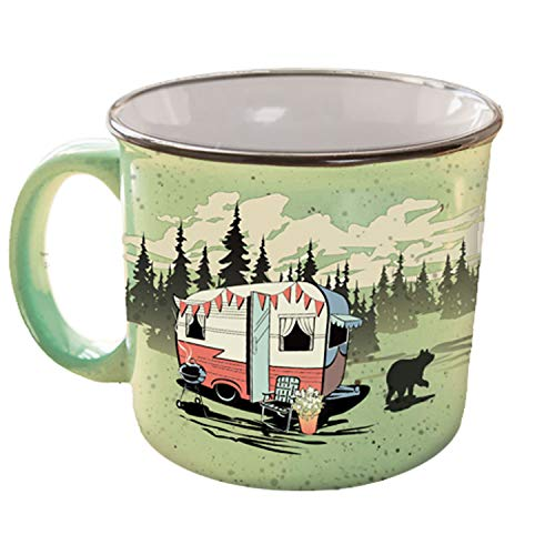 Camp Casual CC-004G Mug (Beary Green),1 Pack