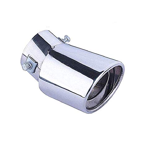 WESEEDOO Exhaust Pipe Single Exhaust Car Exhaust Tail Pipe Exhaust Pipe Blue Car End Pipe Exhaust curved: Kitchen & Home