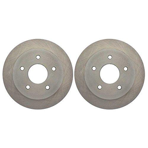 Prime Choice Auto Parts R65040PR Rear Brake Disc Rotor Pair ()