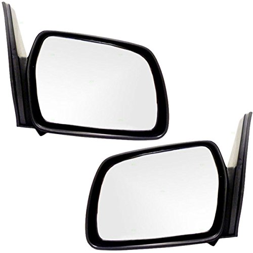 (Koolzap For 89-98 Chevy Tracker 2-Door Manual Rear View Mirror Left Right Side SET PAIR Fix )