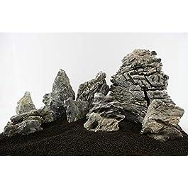 Lifegard Aquatics 25G-Smoky Smoky Mountain Stone 25G Rock Kit