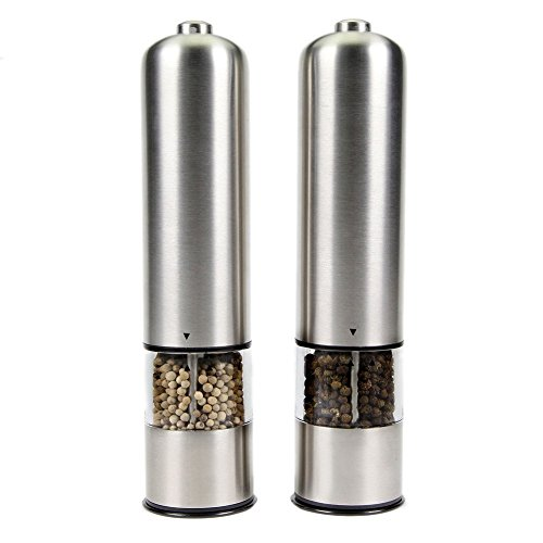 MacDoDo Automatic Stainless steel Pepper