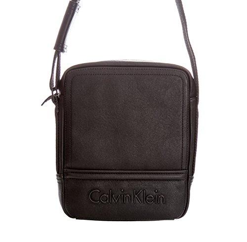Calvin Klein–Bolsa de deporte para hombre (correa para hombro, velocidad Reporter Nero