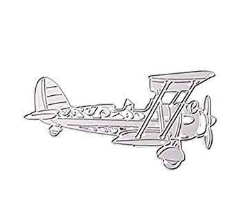 Amazonde Diy Flugzeug Prägeform Karte Basteln Prägung