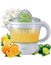 Hauz ACJ418 - Electric Citrus Juicer, 700ml, Light and Compact, White