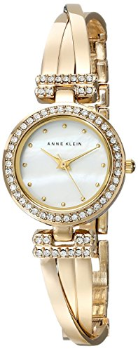 Anne-Klein-Womens-AK1868GBST-Swarovski-Crystal-Accented-Gold-Tone-Bangle-Watch-and-Bracelet-Set