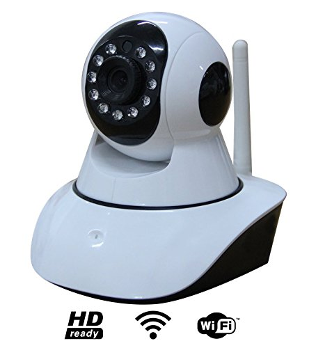 Camara Full HD WiFi IP Seguridad Casa Negocio Bebe