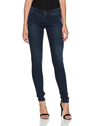 Mujer Ajustados REPLAY Denim Azul Luz para Blue Jeans Dark 7 xw1qS14