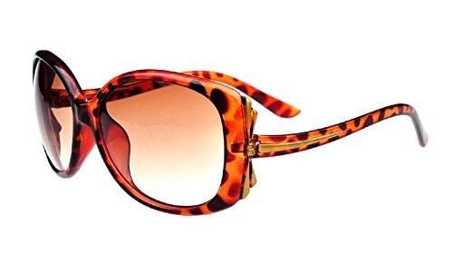 Gafas Brown Xue Sol brown De Gafas Gafas Lady zhenghao De Frame Big Sol qwwgEPBxrn