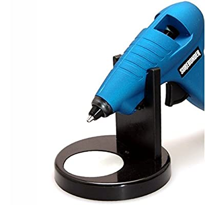 Surebonder 6500N Glue Gun Stand with Non-Stick Glue Pad-Black