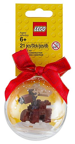 LEGO Seasonal Christmas Set 853574 Reindeer Holiday Ornament Bauble