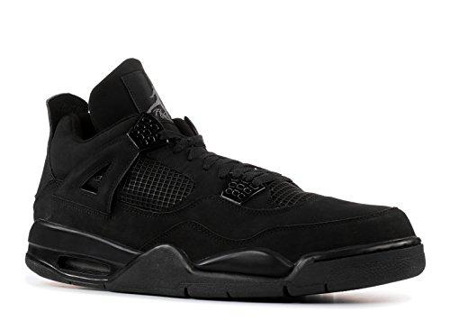 Air Jordan 4 Retro 'Black Cat' - 308497-002 - Size 10.5 (Air Jordan 3 Black Cat For Sale)