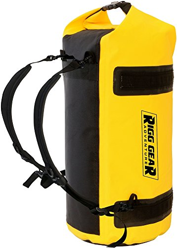 Nelson-Rigg SE-1030 Dry Roll Waterproof Luggage Bag - 30L - Yellow