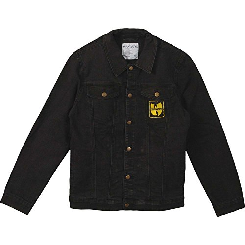 Wu-Tang Clan Men's Forever Patch Denim Jacket Denim Jacket Medium Denim by Wu-Tang Clan